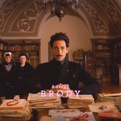 Adrian Brody –Grand Budapest Hotel