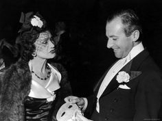 Coco Chanel with photographer Cecil Beaton