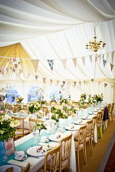 country wedding tent.
