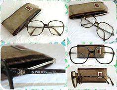 VENDIDAS!!  Auténticas gafas vintage de Christian Dior. Años 70 o primeros 80.