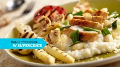 Risotto szparagowe z kurczakiem #lidl #przepis #szparagi #kurczak #risotto