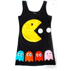 Pac Man dress