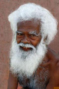 white hair, white beard, cotton candy, beauti age, healthy hair, black white, africa, beauti face, snow white