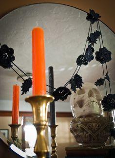 Gothic Black Garland