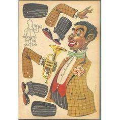 gammel sprællemand, trumpetneger ( 42  Y