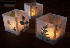 Luminaria Candle Shades workshop with Kelly Wilkinson