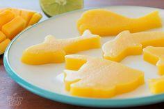 #Mango Lime Gelatin Gummies #paleo - I calculate about 11 net carbs per serving / shared via https://facebook.com/lowcarbzen/