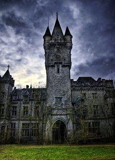 Ancient Castle, Celles, Belgium