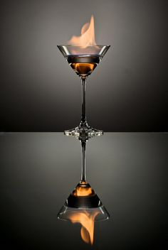 The Flaming Martini by andrew_v, via Flickr
