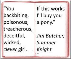 ♥ Jim Butcher ♥ ~ Quote #Author #Humor