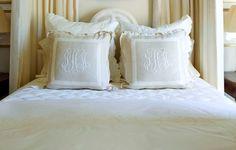 Linen pillows!