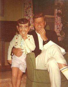 JFK with daughter Caroline