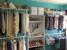 DIY closet room! 3 more weeks until I get to start working on my MASSIVE dream closet!