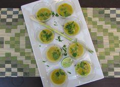 Gluten Free, Vegetarian Thai Soup Shooters for Platter Sunday!
