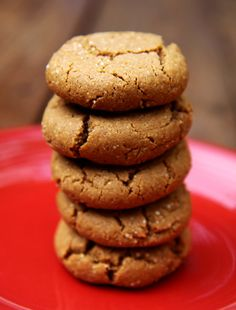 Dairy-Free Ginger Spice Molasses Quinoa Cookies