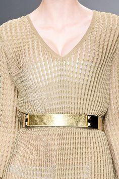 Golden Belt Trend forSpring Summer 2013.  Jo No Fui Spring Summer 2013.   #Fashion  #Accessory #Trends