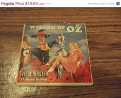 Wizard of Oz View Master Reels (1962)