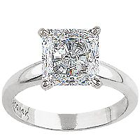 Tiffany's princess cut diamond engagement ring