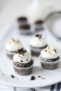 hazelnut chocolate cupcakes#Repin By:Pinterest++ for iPad#