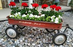 My little red wagon... Not just for kids anymore!