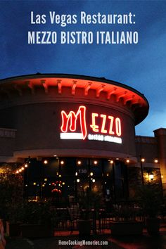 A must try!  Las Vegas Restaurant: Mezzo Bistro Italiano and Wine Bar  #reviewcrew #travel #vegas #lasvegas