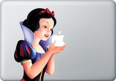 Yes I want this! The Snow White MacBook Apple Mac Decal Sticker Vinyl