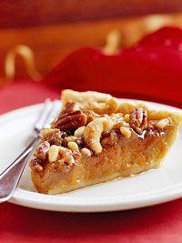 Mixed-Nut Maple Pumpkin Pie Recipe