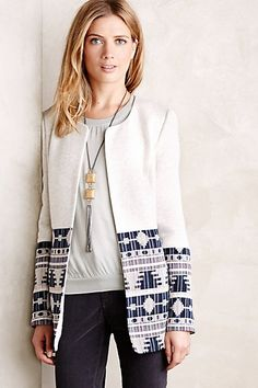 Tapestry Drop Coat #anthropologie #anthrofave