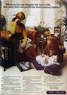 1971 Modess Ad