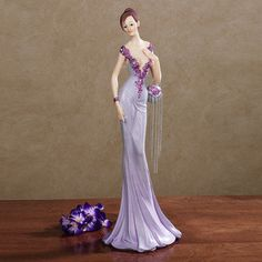 Belle of the Ball Lady Figurine