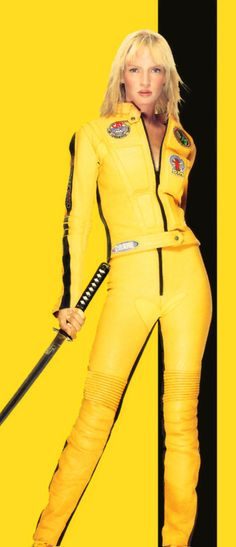Uma Thurman in Kill Bill @}-,-;--