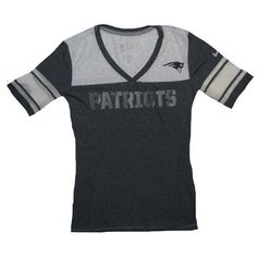 Official New England Patriots ProShop - Ladies Nike Touchdown Top
