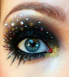 Space galaxy eyes