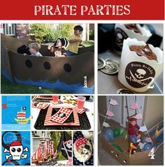 Pirate Party!  http://www.tipjunkie.com/pirate-birthday-party-ideas/