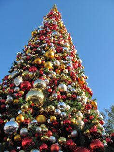 Paradise Pier Christmas Tree in Disney's California Adventure.