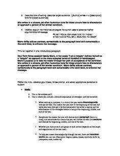 ap english language exam essay prompts