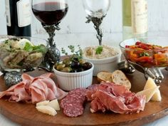 Antipasto on pinterest antipasto platter antipasto and Ina garten appetizer platter