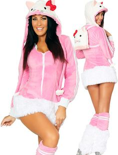 Say Hello! Kitty Costumes for Women