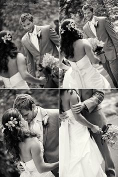 """""""first look"""" wedding photos. THIS IS AMAZING - I think the guy's perspective is the most important!!!"""