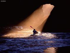 Path Of Light Cathedral Grove Oregon kayaking - #kayak #kayaking #kayaker