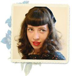 classic classic spot, vintage, hairstyl inspir, strawberries, bettie page, koi, bangs, classic origin, retro hairstyles