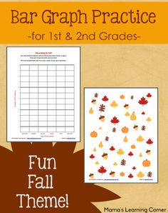Bar Graph Practice with a Fun Fall Theme! - Mamas Learning Corner