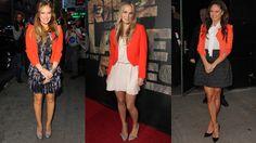 blazer fashion, orangen blazer, tangerin blazer, orang blazer, oranges