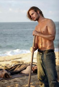 "Josh Holloway (Sawyer from ""Lost"") HOT."