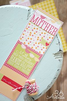 Bookmark Free Printable from the36thavenue.com Perfect for Mother's Day #yearofcelebrations #mothersday