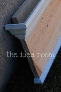 crown molding shelf