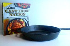 Enter to win a Lodge Cast Iron Skillet and the new cookbook, Lodge Cast Iron Nation.