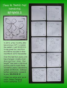 Sh.Rock by Diane Lachance, Certified Zentangle Teacher CZT