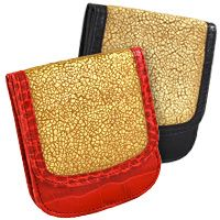 New Evening Old Paris Gold with Croco Trim Taxi Wallets®!!! Great for an evening out on the town! taxi wallet