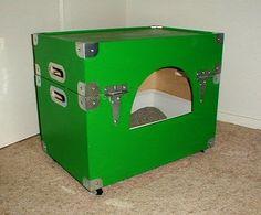 DIY  hide-away cat litter box  - Tutorial